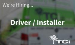 Delivery driver/installer