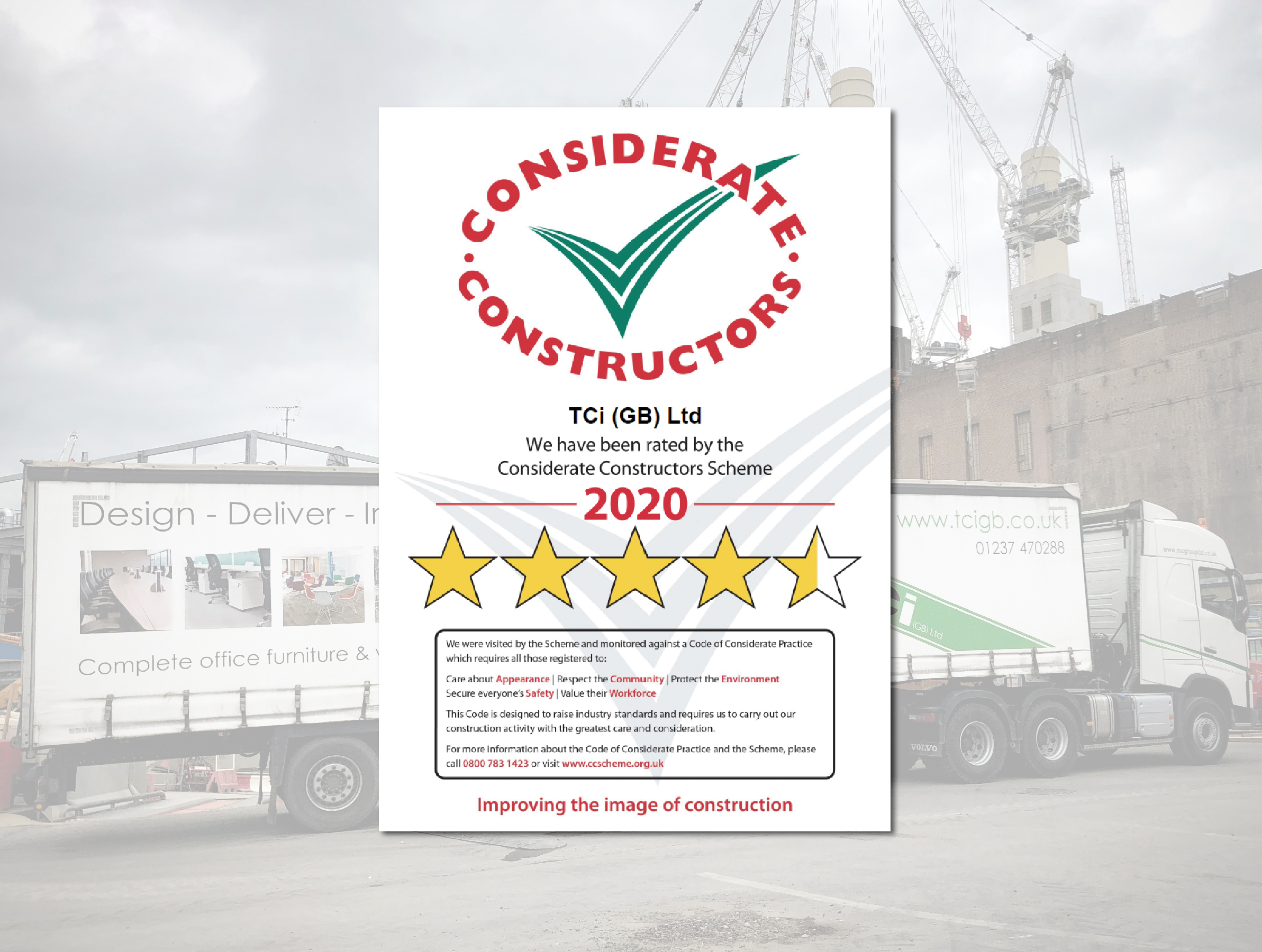 Another super STAR CCScheme report for TCi