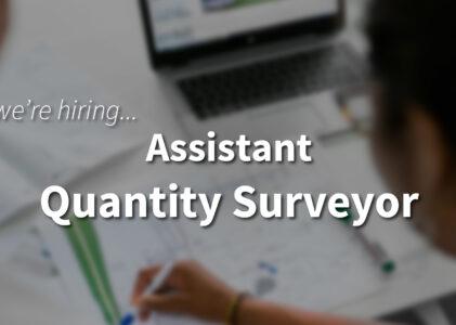 Assistant Quantity Surveyor