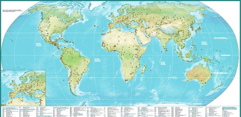 UNESCO-mab-biosphere-map-world