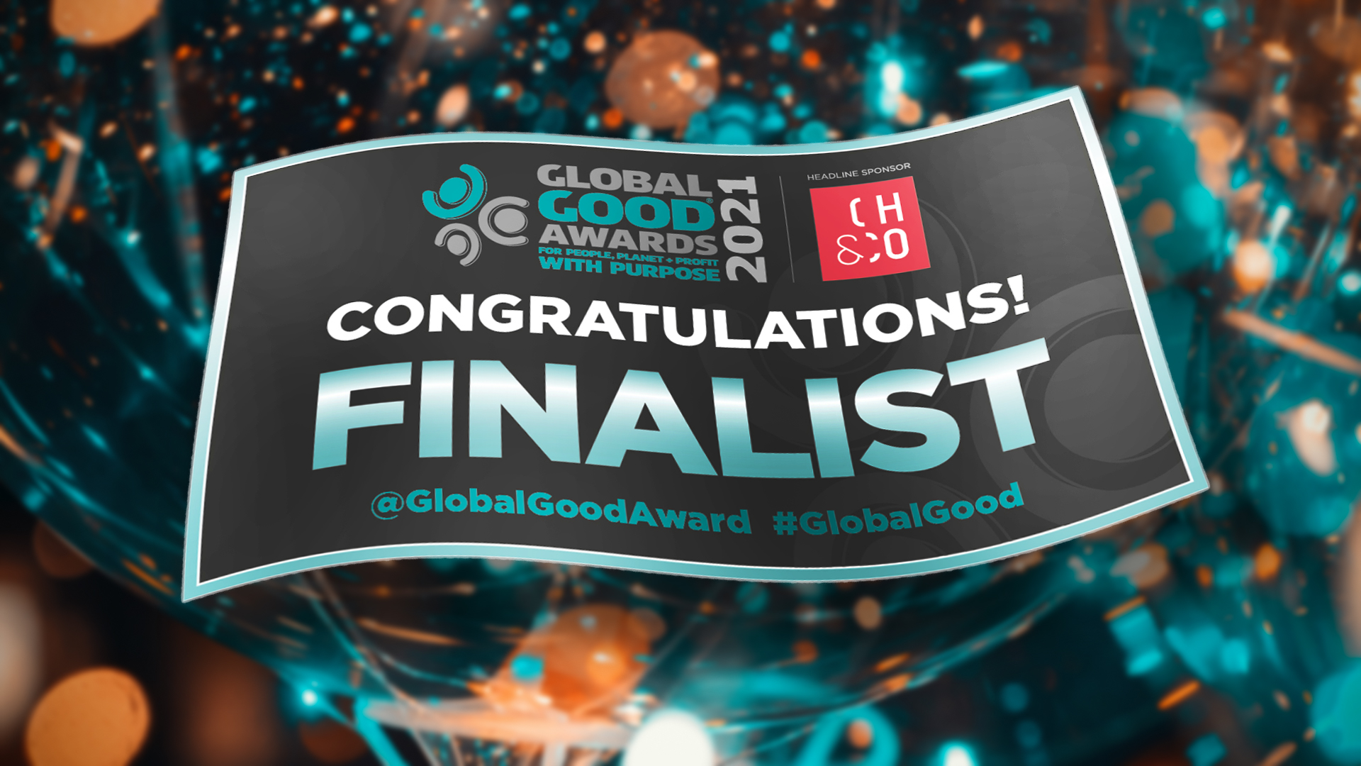 TCi is a Global Good Awards Finalist